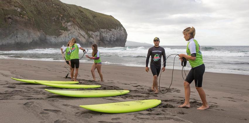 São Miguel Island - Surf Lessons
