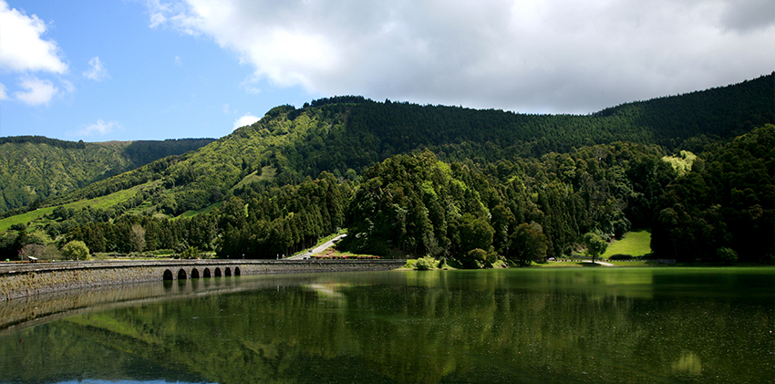 Azores, São Miguel Island - Sete Cidades Green Lagoon