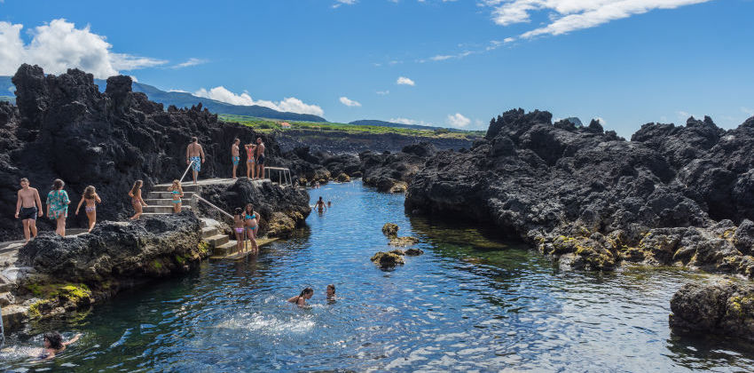 Azores, Terceira Island - Biscoitos Natural Pools