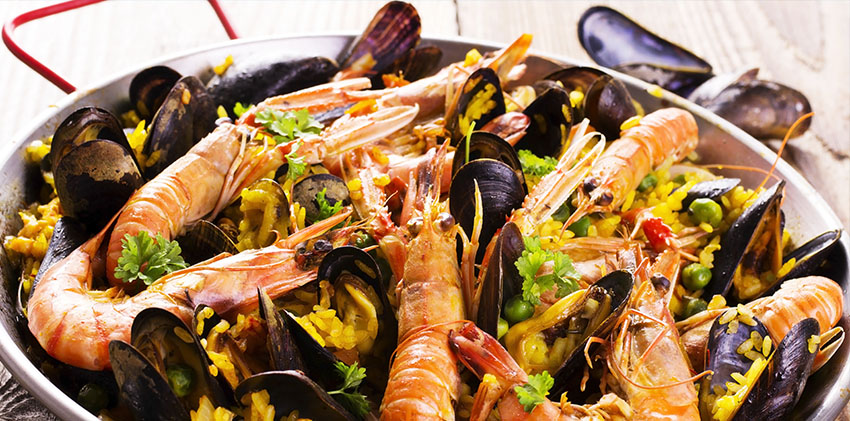 Barcelona, Spain - The Delicious Paella