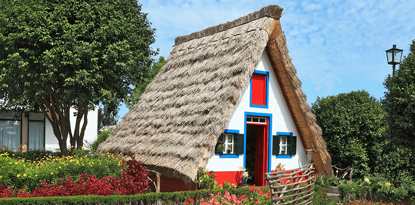 Madeira - Traditional Santana Houses
