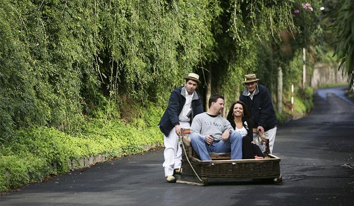 Madeira - Traditional Downhill Sledge Trip