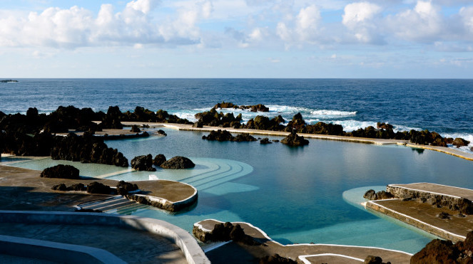 Madeira - Volcanic Swimming Pool at Porto Moniz