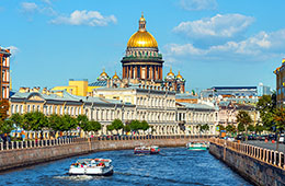 The Best Of Saint Petersburg: Flight + 3* or 4* Hotel