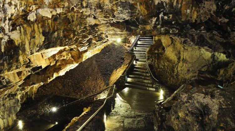 Azores, Terceira Island - Algar do Carvão