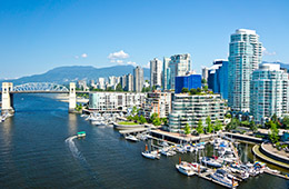 Escape routine, enjoy a citybreak in Vancouver: Flight + 3* or 4* Hotel