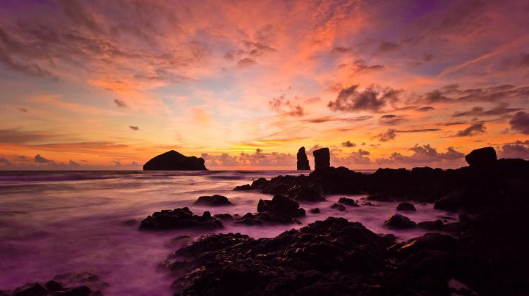 Azores, São Miguel - Mosteiros Beach