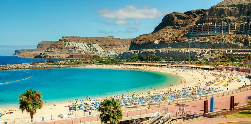 Spain, Grand Canaria - Anfi Del Mar Beach