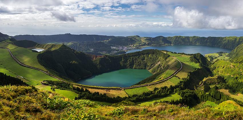 Azores, São Miguel - Sete Cidades Lagoon