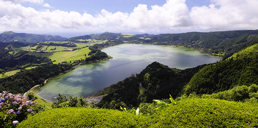 Azores, São Miguel - Furnas Lagoon