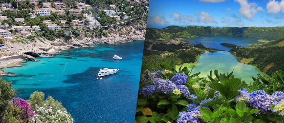 Azores Stopover | Gran Canaria: Experience two exciting European island destinations: sunny Grand Canaria and lush São Miguel Island in the Azores