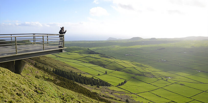 Azores, Terceira Island - Serra do Cume Viewpoint