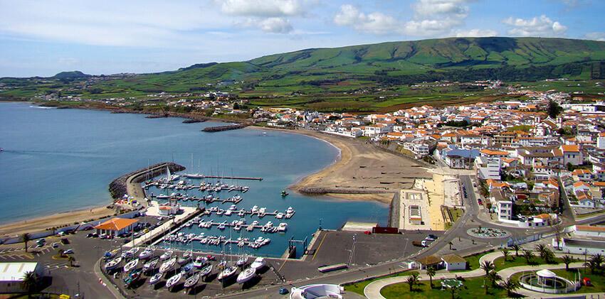 Azores, Terceira Island - Praia da Vitória City