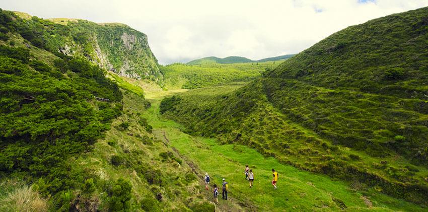 Azores, Terceira Island - Walking Tour