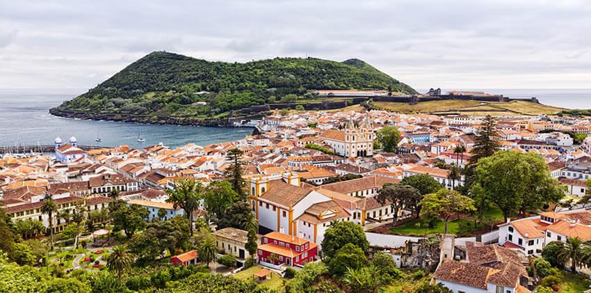 Azores, Terceira Island - Angra do Heroísmo City, UNESCO World Heritage Site