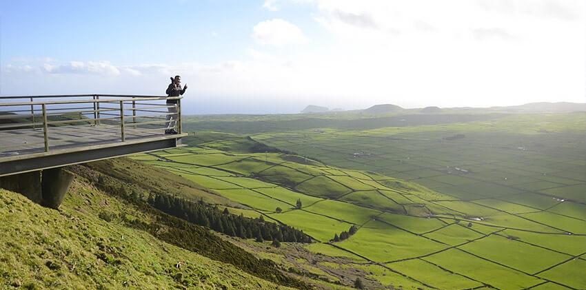 Azores, Terceira Island - Serra do Cume Viewpoint