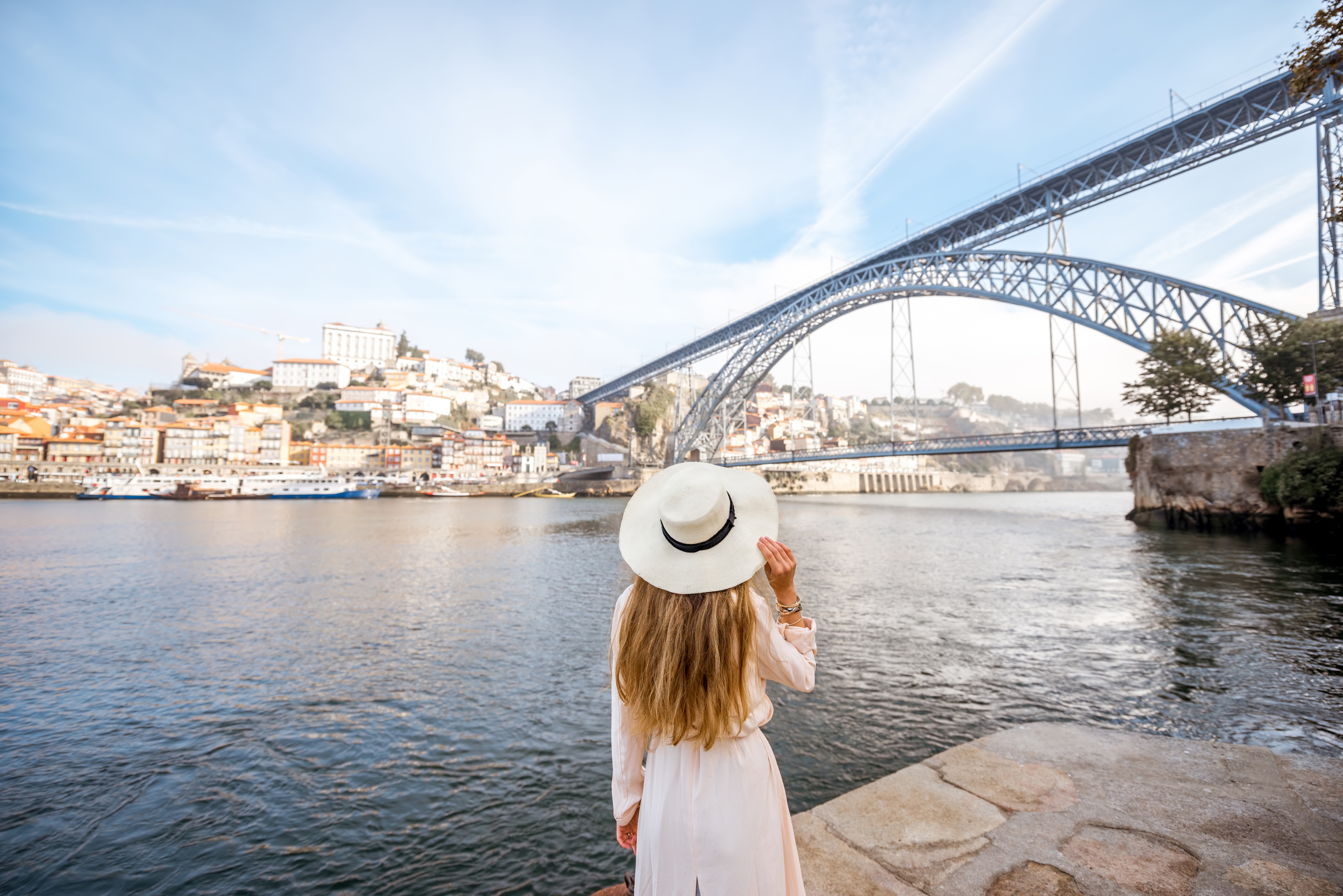 Historical center of the city of Porto in Northern Portugal.
